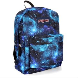 NEW JanSport Superbreak Backpack, Galaxy